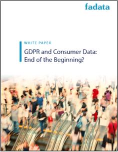 GDPR and Consumer Data White Paper